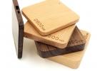 BIO powerbank - Quadro - različne vrste lesa