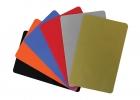 Barvne nepotiskane PVC kartice