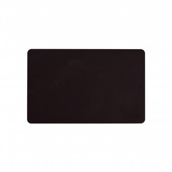 Črna prazna PVC kartica