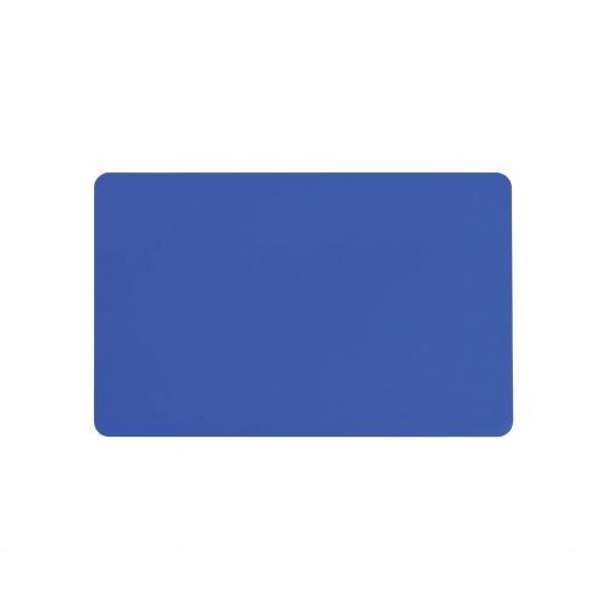 Modra prazna PVC kartica