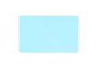 Modra prazna PVC kartica - baby blue
