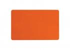 Oranžna prazna PVC kartica
