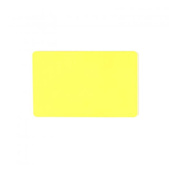 Rumena prazna PVC kartica