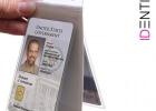 Stranski pogled zaščitnega ovitek za RFID kartice