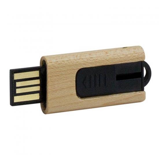 Eko lesen USB ključek z drsnikom