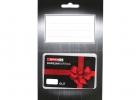 Primer darilne kartice Špar v kombinaciji s kartončkom