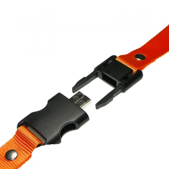 Ovratni trak z USB ključkom