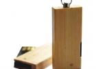 Zložljivi leseni USB ključek