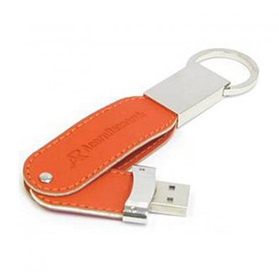 Vrtljivi usnjeni USB ključki