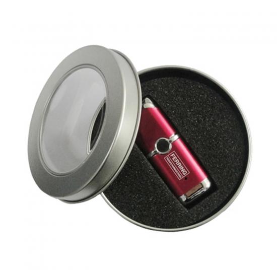 Kovinska okrogla embalaža