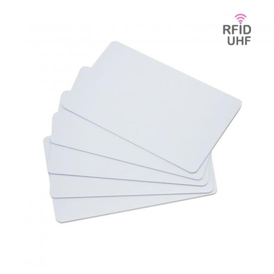 RFID UHF brezkontaktne bele kartice