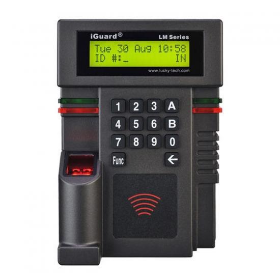 iGuard, čitalec brezkontaktnih (RFID) kartic