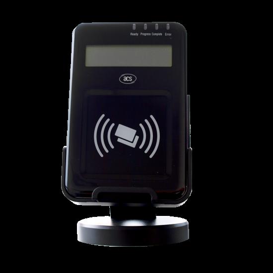 NFC čitalec z LCD zaslonom