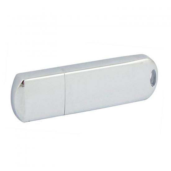 Metalni USB ključek s pokrovčkom