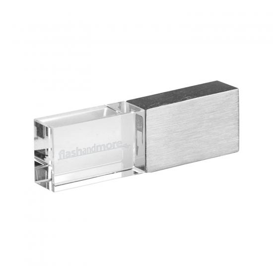 Metalno stekleni USB ključek