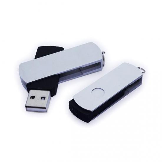 Metalni vrtljivi USB ključek