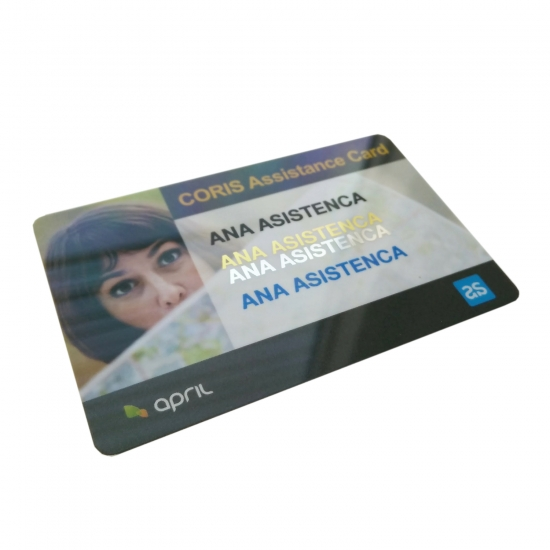 Personaliziranje kartic z različnimi barvami, tudi metalnimi