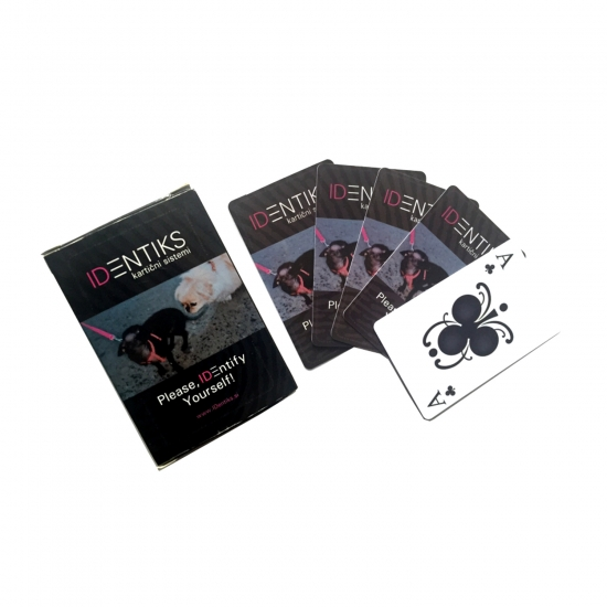 PVC waterproof playing cards