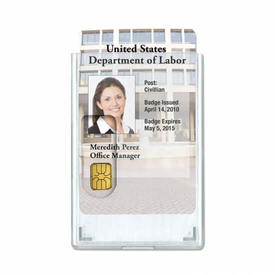Zaščitni ovitek za RFID kartice - spredaj